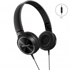 Pioneer Enclosed Dynamic Headphones MJ522T-K Suit iOS & Android with Microphone